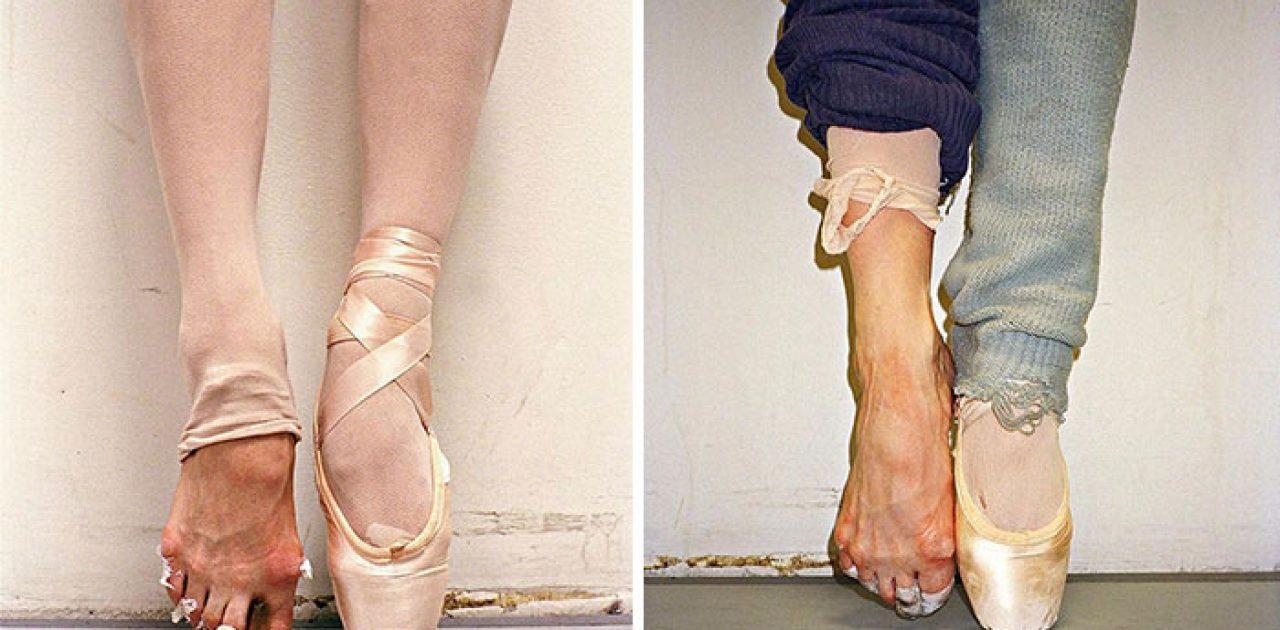pés de bailarinas capa