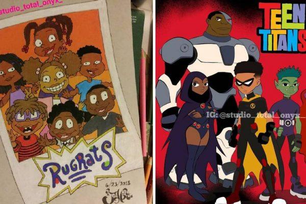 personagens negros capa