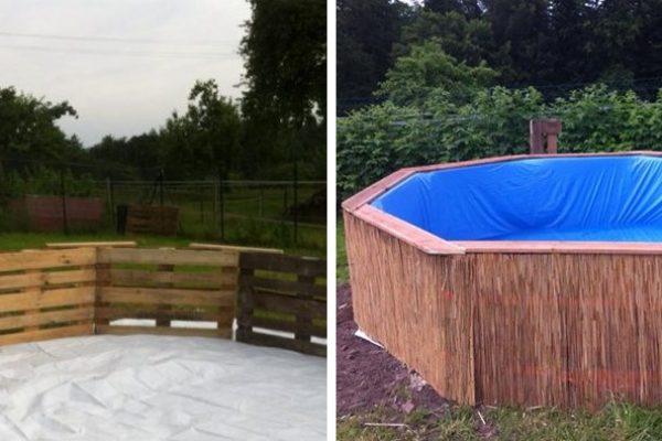 piscina simples capa