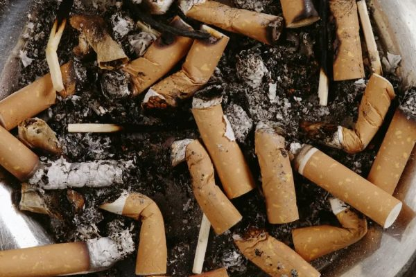 proibido fumar capa