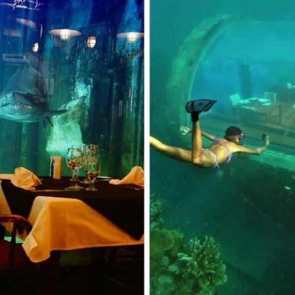 restaurantes subaquáticos capa