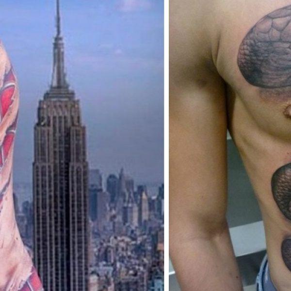tatuagens incríveis capa