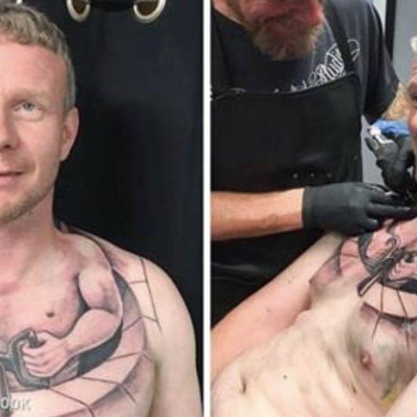 tatuagens realistas capa