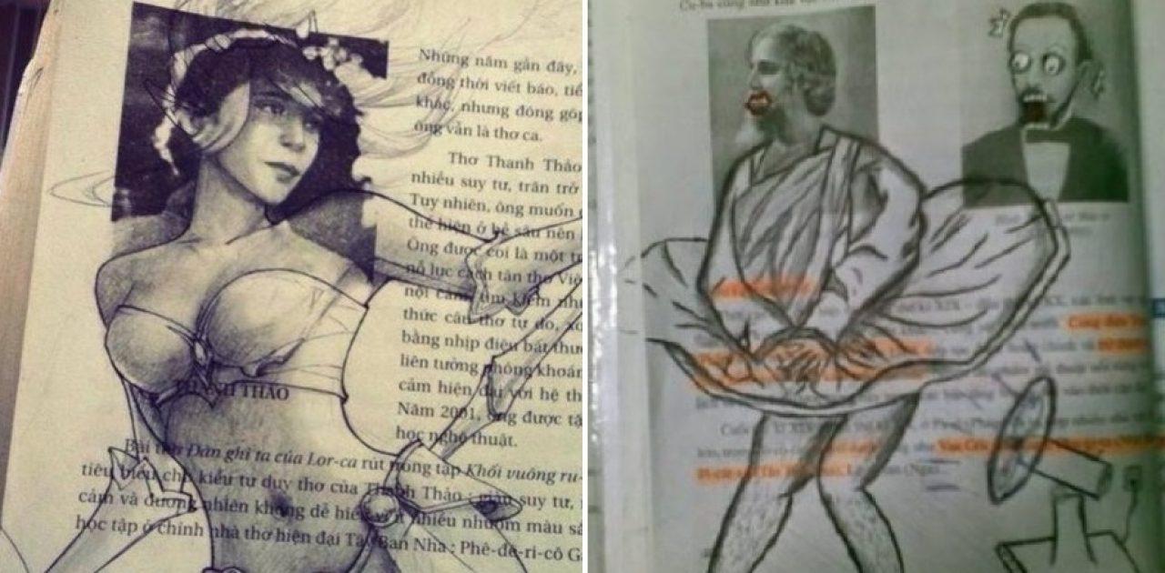 vandalismo em livros capa