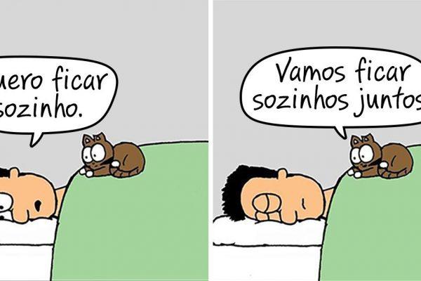 vida com gato capa
